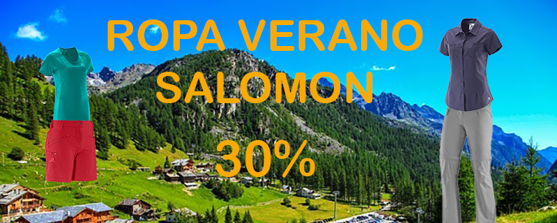 Ropa Verano Salomón 30%