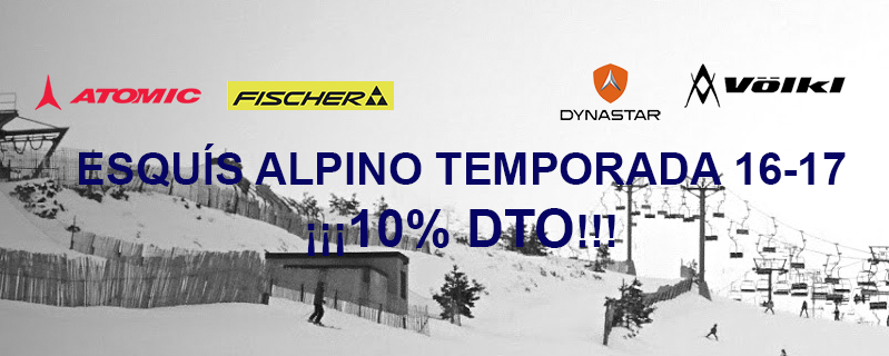 Deportes Alaska - Oferta Esquí Alpino