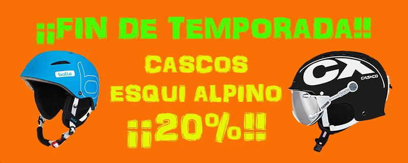 Fin de temporada Cascos Alpino