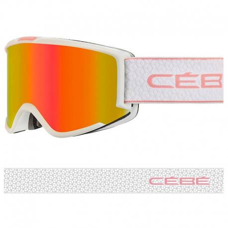Cebe SILHOUETTE PC VARIO PERFO AMBER FLASH RED